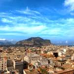 View of Palermo from the Teatro Massimo, Palermo, Sicily