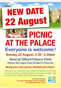 Read more about the article Picnic at the Palace – new date!