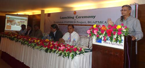 Bangladesh INSPIRED Project, BGAPMEA-P