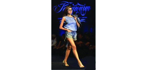 The Second Edition Of Fashionim The Denim Fashion Show Otgl Online Textile Germents Leather