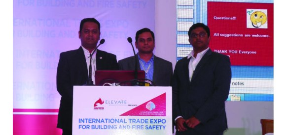 From Right side - Tej Kumar Behara, Mr. Anurag Singhal and Mr. Md. Sharif Mollah