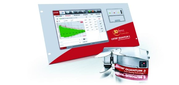USTER® QUANTUM 3 Anniversary Edition – yarn clearer and CCU (Central Control Unit)