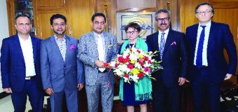 French Ambassador Visits BGMEA