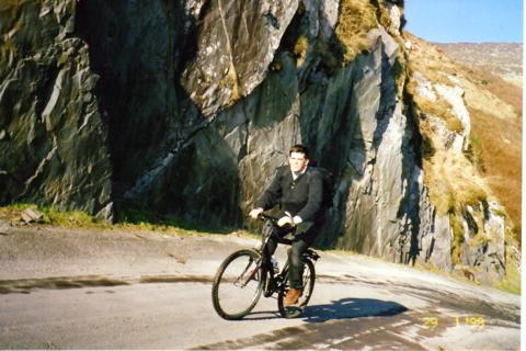 Bicylcing to Slea Head
