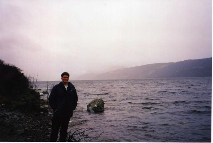Liam by Loch Ness