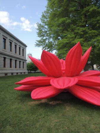 """Breathing Flower,"" 2016 - Choi Jeong Hwa"