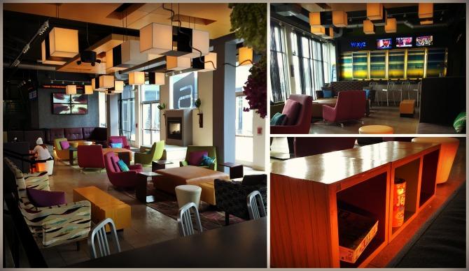 Aloft Chicago OHare Lobby