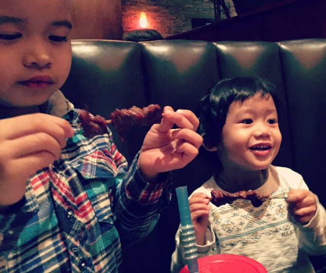 Weber Grill Schaumburg Happy Kids Steak Skewers