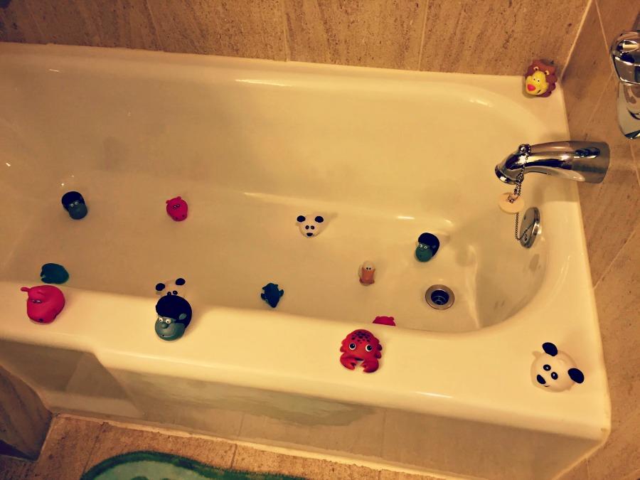 Swissotel Chicago Bath Toys Bathtub