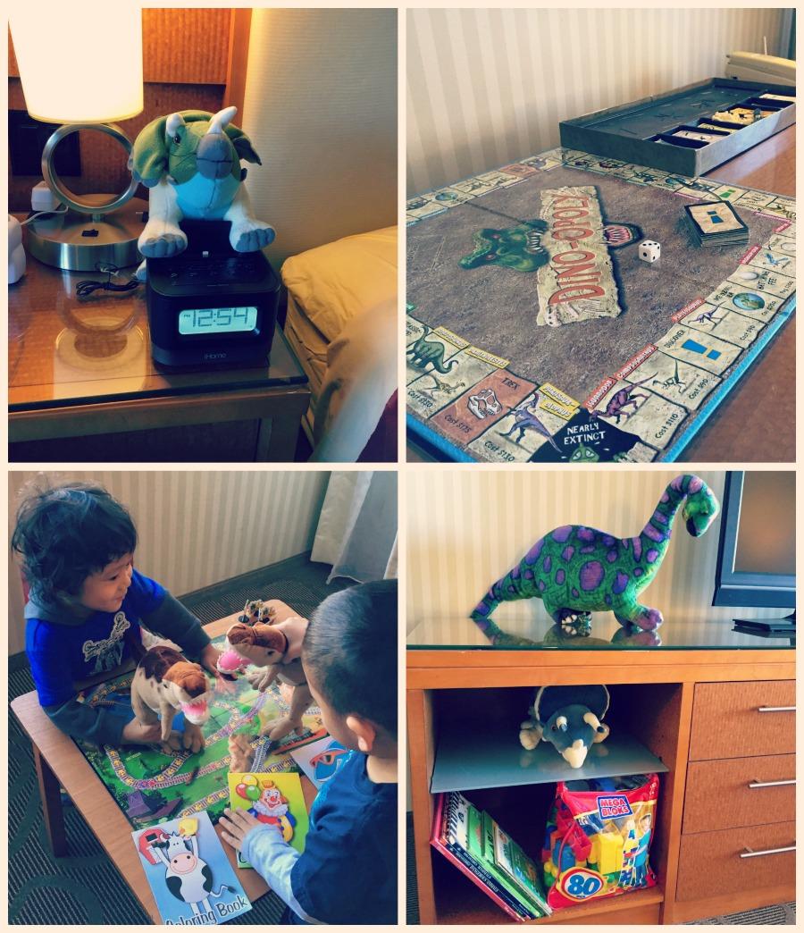 Swissotel Chicago Dinosaur Toys