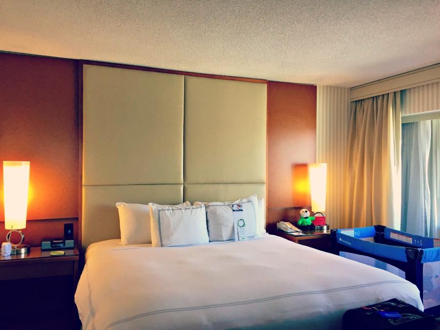 Swissotel Chicago King Bedroom