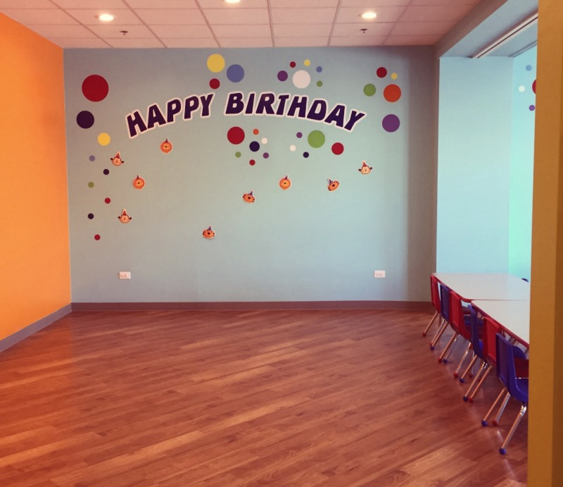 Adventure Playland Mt Prospect Birthday Room