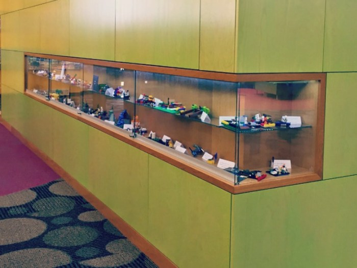 Arlington Heights Library Changing exhibits