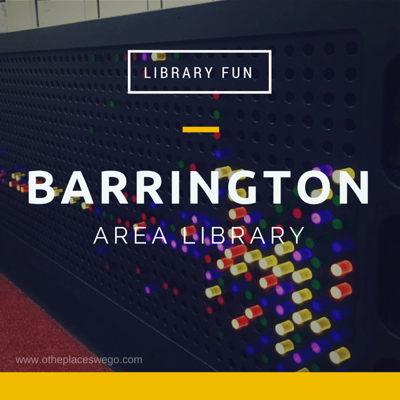 Library fun: Barrington Area Library