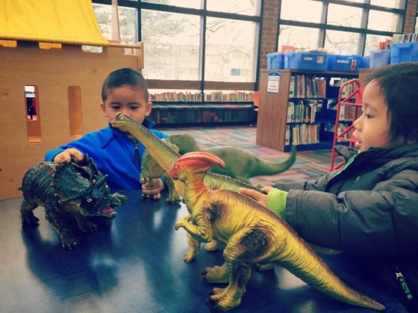Elk Grove Library Dinosaurs