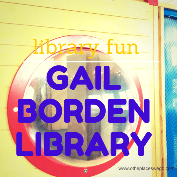 Library Fun: Gail Borden Public Library in Elgin #NationalLibraryWeek