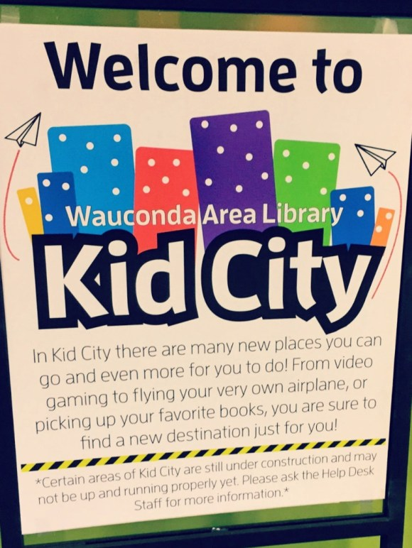Library fun: Wauconda Area Library #NationalLibraryWeek