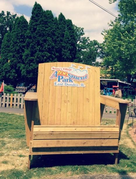 Santas Village AZoosment Park Big Chair