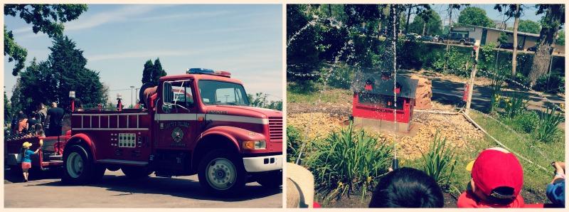 Santas Village AZoosment Park Fire Truck