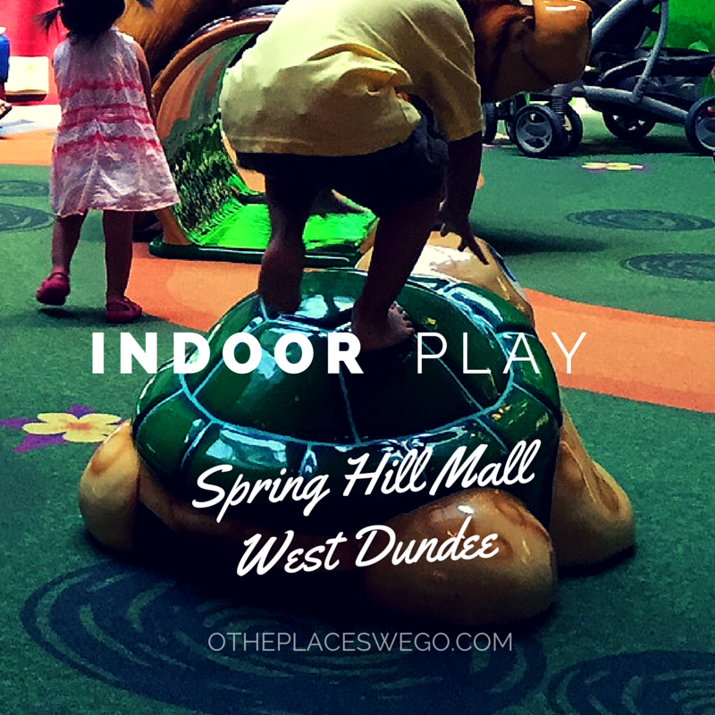 Indoor fun at Spring Hill Mall's play area