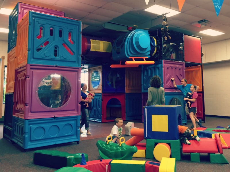 Indoor Fun At Jumps N Jiggles And Carousel O The Places