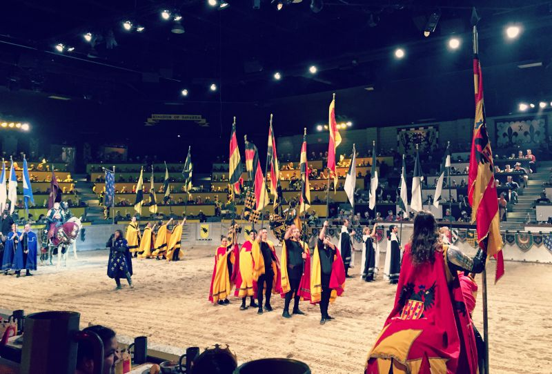 Medieval Times Chicago Schaumburg Parade