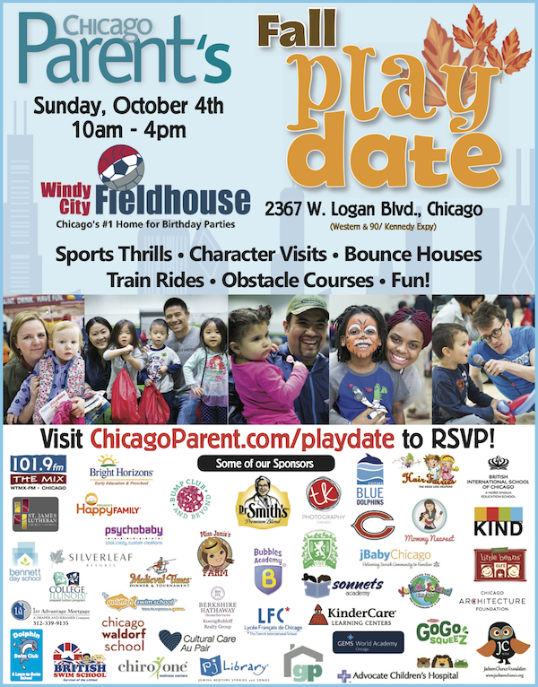 Chicago Parent Playdate at Windy City Fieldhouse #CPPlaydate