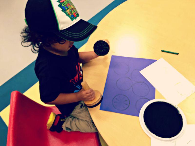 DuPage Childrens Museum Grand Reopening Art Studio