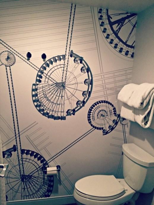 Le Meridien Chicago Oak Brook Bathroom Ferris Wheel