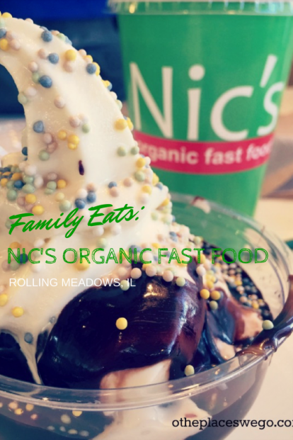 America's first organic fast food restaurant, Nic's Organic Fast Food, in Rolling Meadows, IL