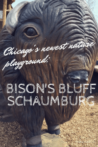 Chicagoland's newest nature playground Bison Bluff in Schaumburg