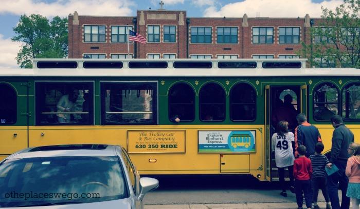 Museum Day Elmhurst - Trolley