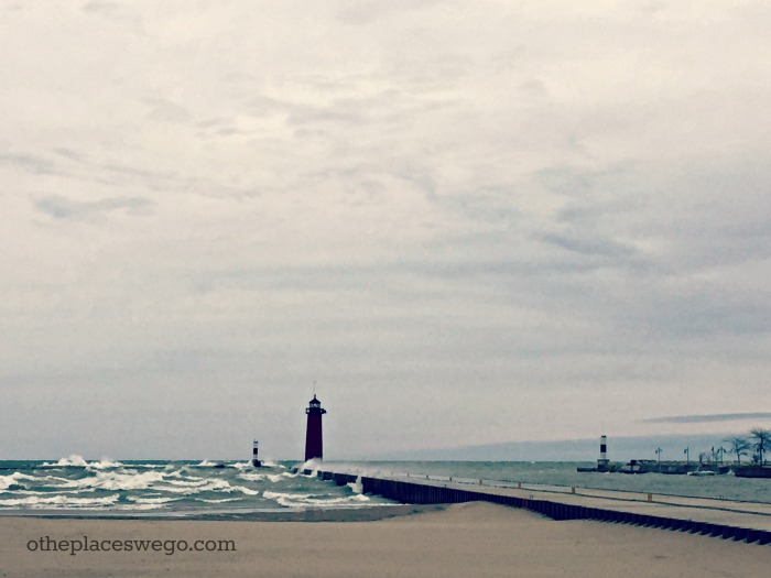 North Pier Lighthouse Kenosha