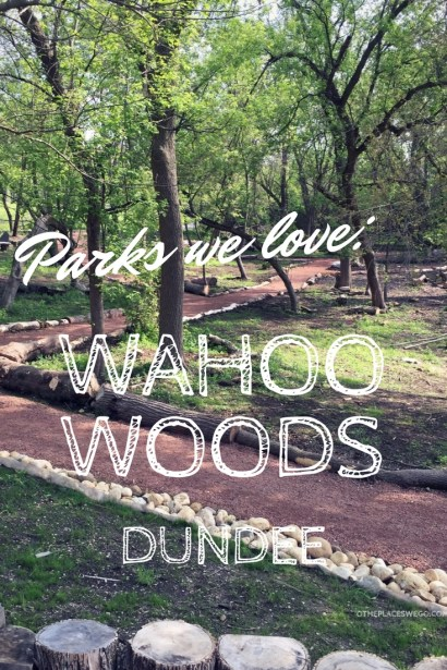 Pin this - Wahoo Woods Dundee - New Nature Play Space