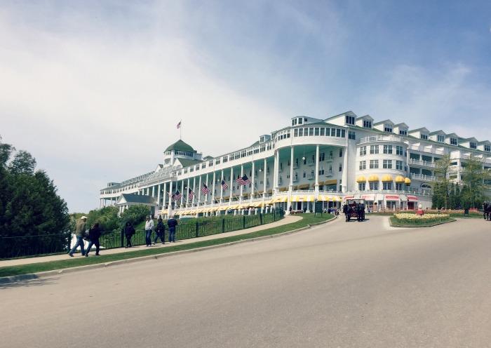 Biking Mackinac Island - Grand Hotel