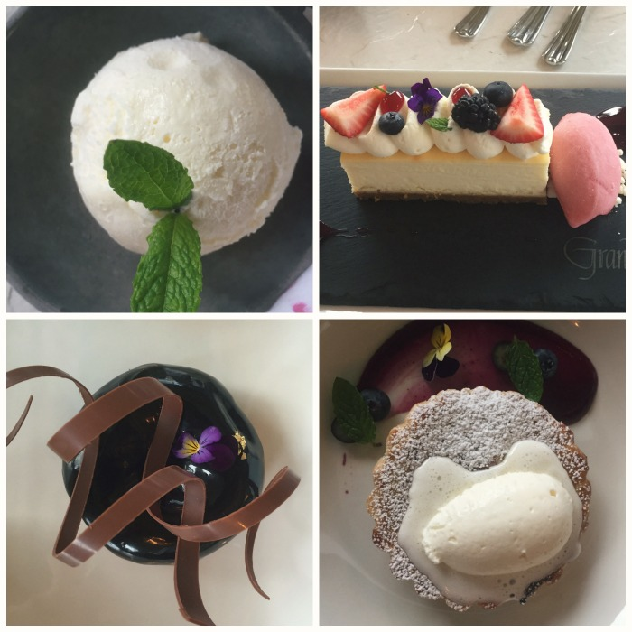 Grand Hotel Mackinac Island - Jockey Club Desserts