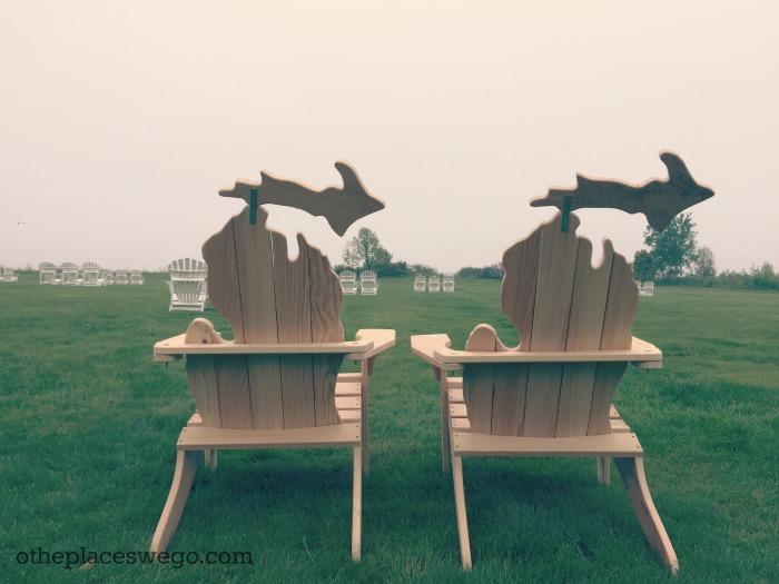Mission Point Resort Mackinac Island - Adirondack Chairs
