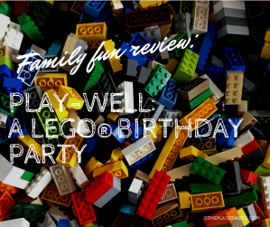 Play-Well LEGO birthday party