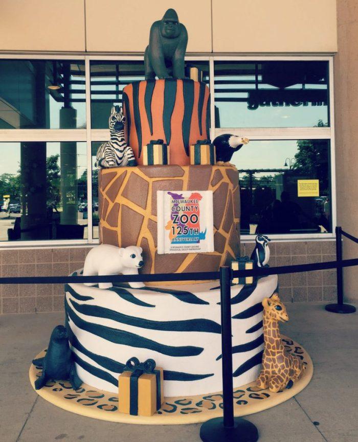 Milwaukee County Zoo - 125th Birthday Cake