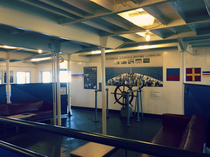 SS Badger Carferry - Aft End Lounge