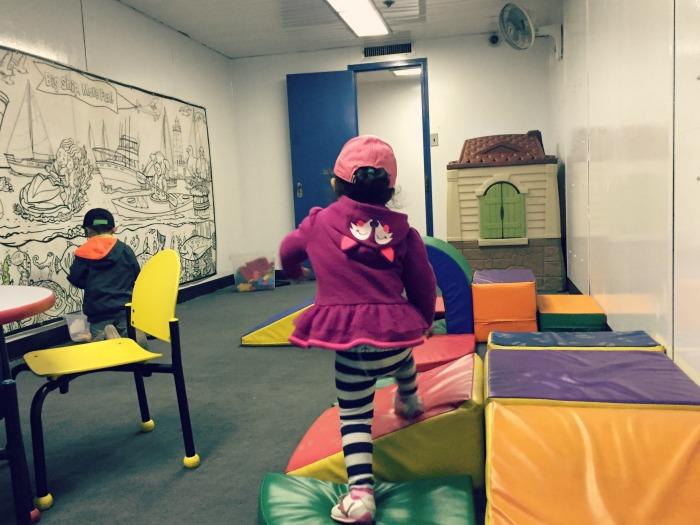 SS Badger Carferry - KidsPort Kids Room