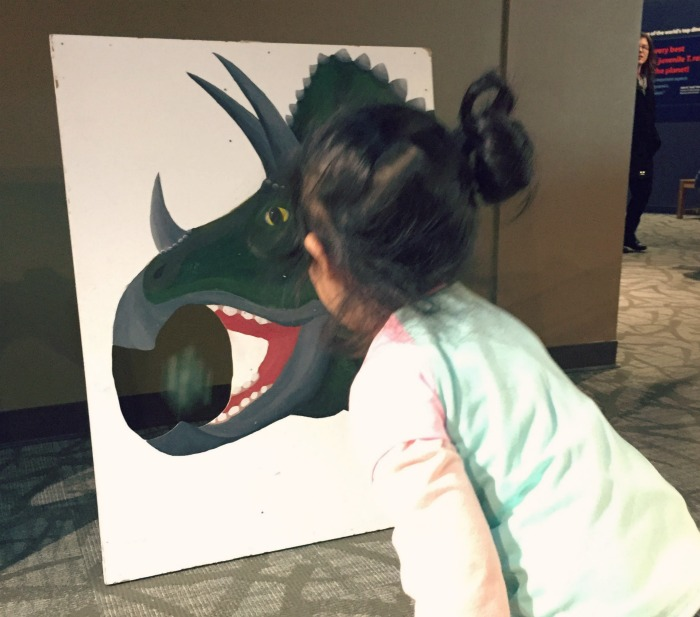 Fun at Paleofest at Burpee Museum. Great event for dinosaur lovers!