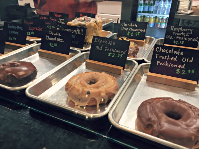 Craft Donuts + Coffee - A refreshing and hip place in West Dundee with cake-like donuts and Metric Coffee.