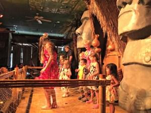 Hawaiian Family fun at Tiki Terrace in Chicagoland