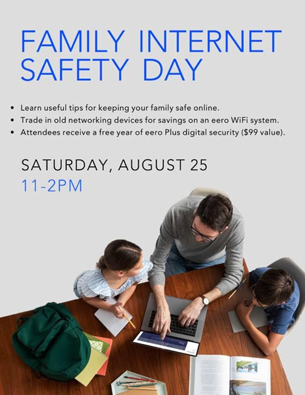 Family internet day with Abt + eero