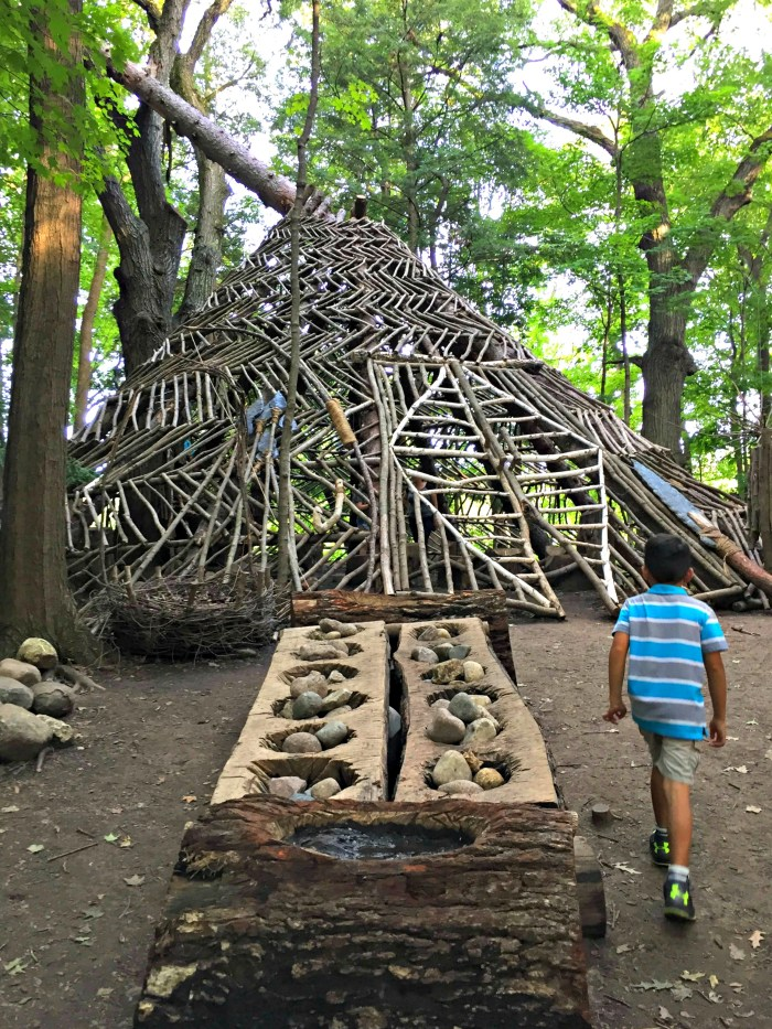 Everything you need to know about troll hunting with kids at The Morton Arboretum in Lisle, IL