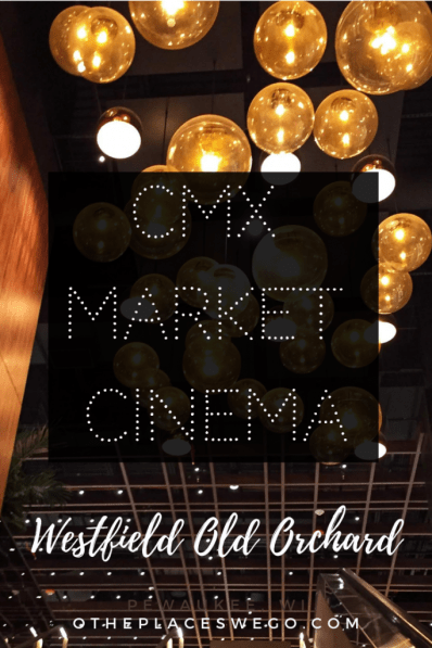 Our experience watching a movie at CMX Market Cinema Old Orchard, a luxury, upscale theater with gourmet, made from scratch food.