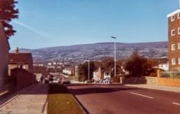 Henllys Way looking towards Mynydd Maen (1974)