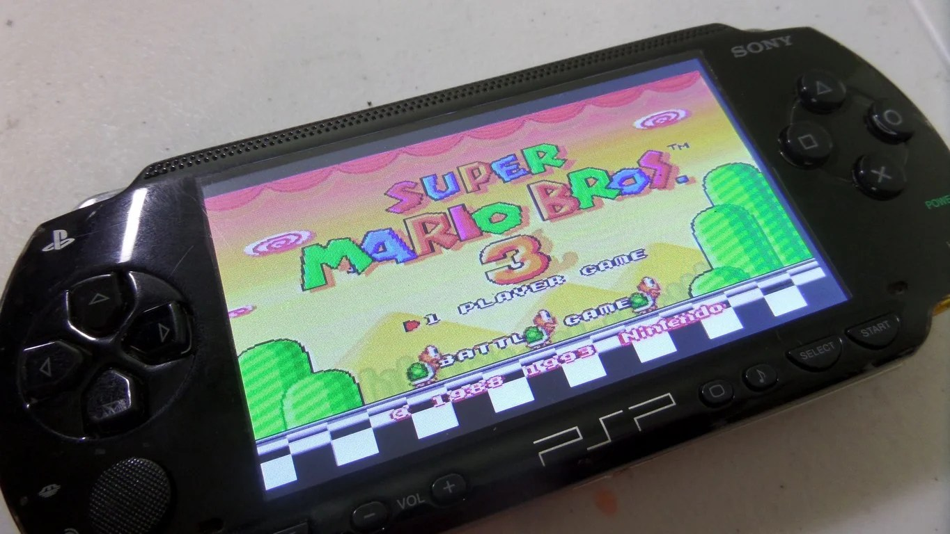 PSPi 1000 Version 1 Raspberry Pi Zero In A PSP