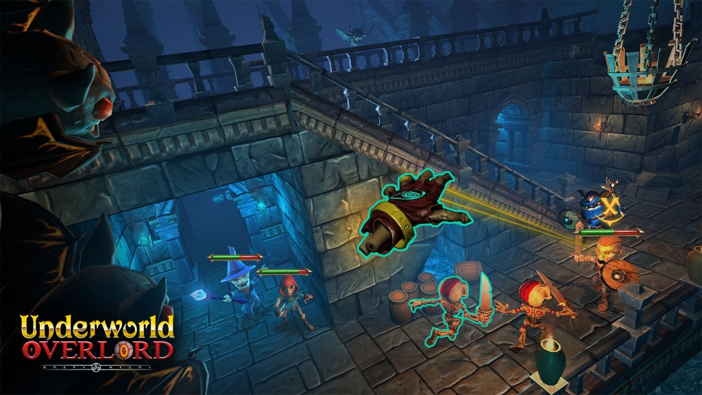 Underworld Overlord Game Screenshot Mobile VR Daydream Google